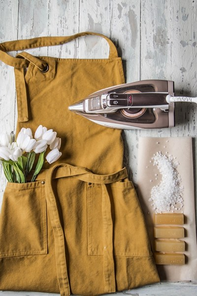 How I Made the Best Garden Apron Ever With Beeswax