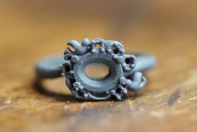 ルビーの指輪をリフォームBefore After