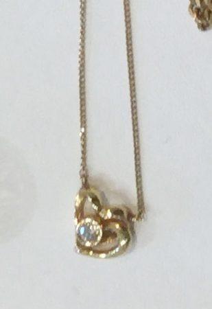 指輪とネックレスのリフォーム実例(お客様オーダー)