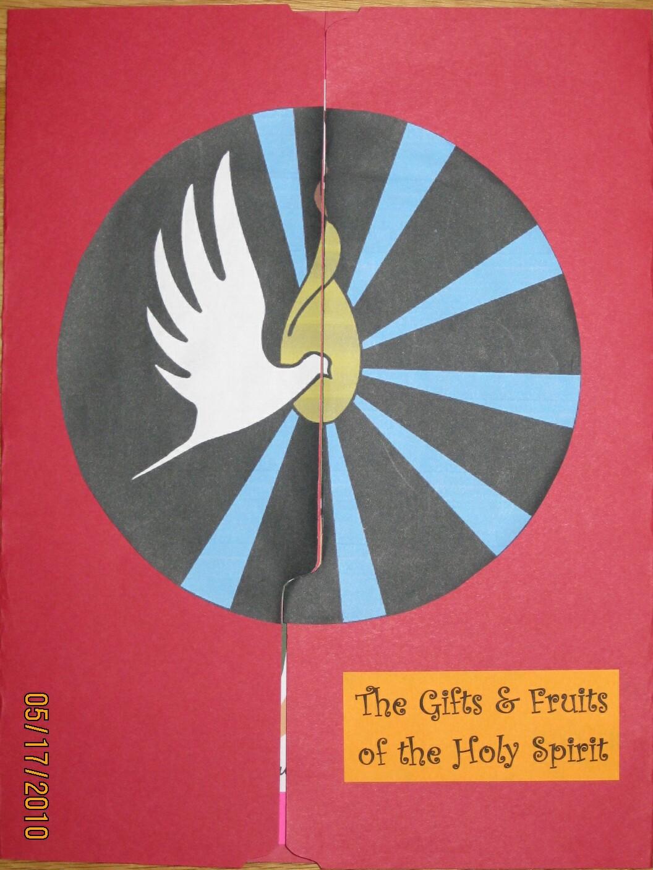 Making A Holy Spirit Lap Book