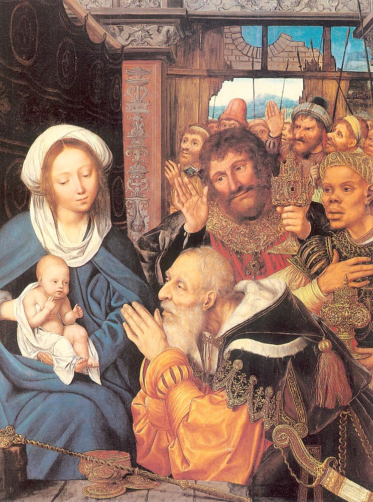 Quentin Massys, The Adoration Of The Magi, 1526
