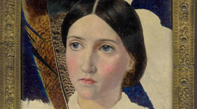 Christina Rossetti Painting