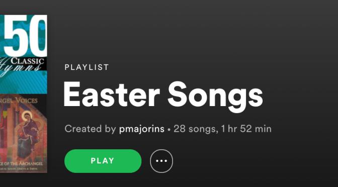 Easter Spotify Playlist