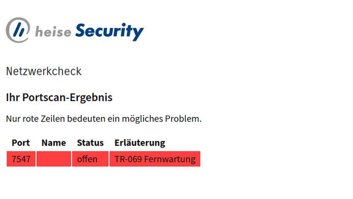 Nach Großstörung bei der Telekom: TR069-Test