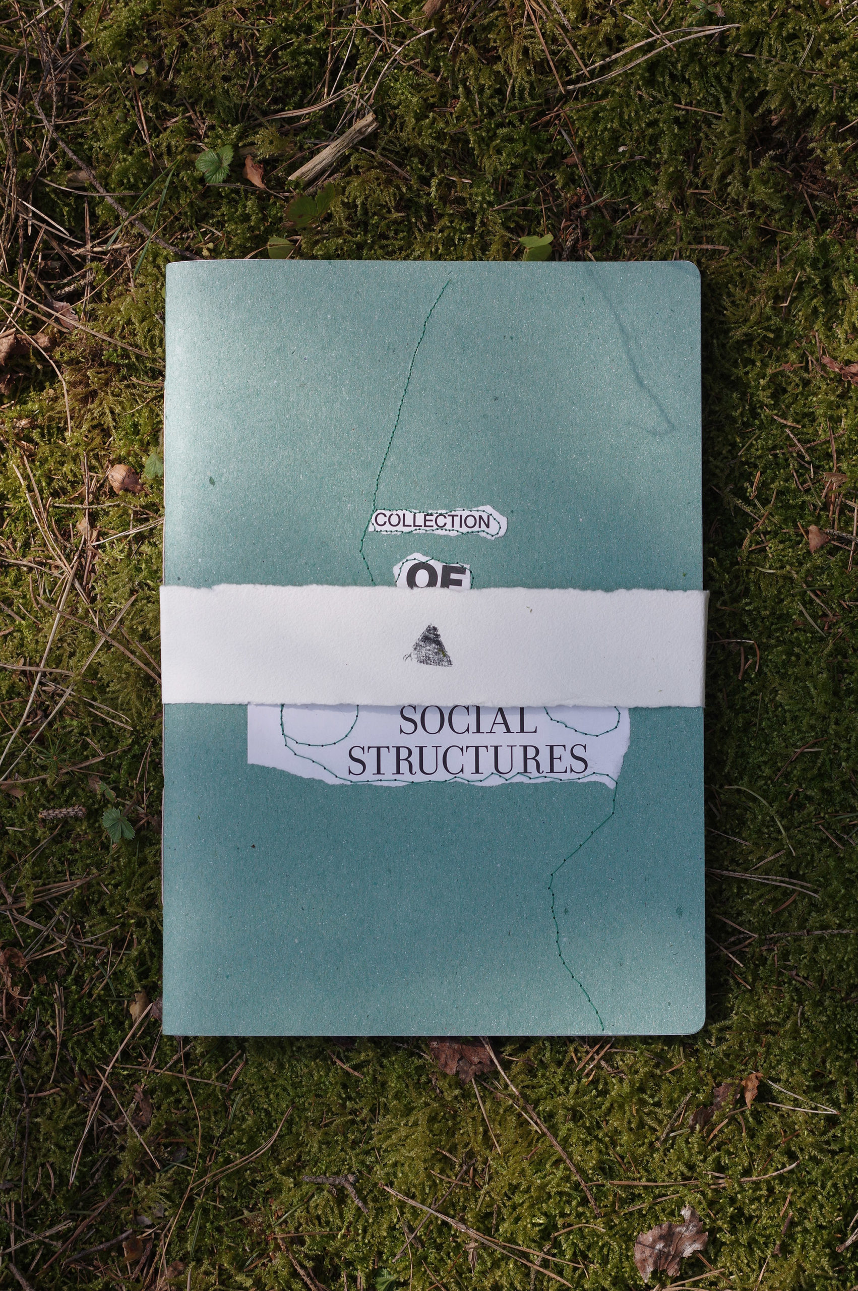 Collage notebooks - sustainability, nature, ideas, culture