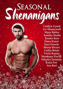 Seasonal Shenanigans anthology cover. Christmas is Coming