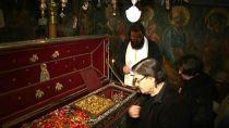 Рака с мощами Святителя Спиридона Тримифунтского