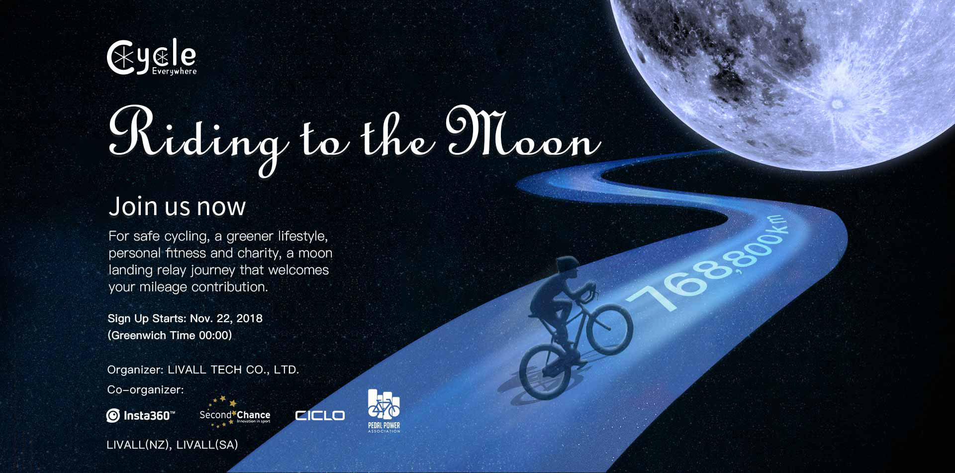 Riding to the moon  - Riding to the moon - Home