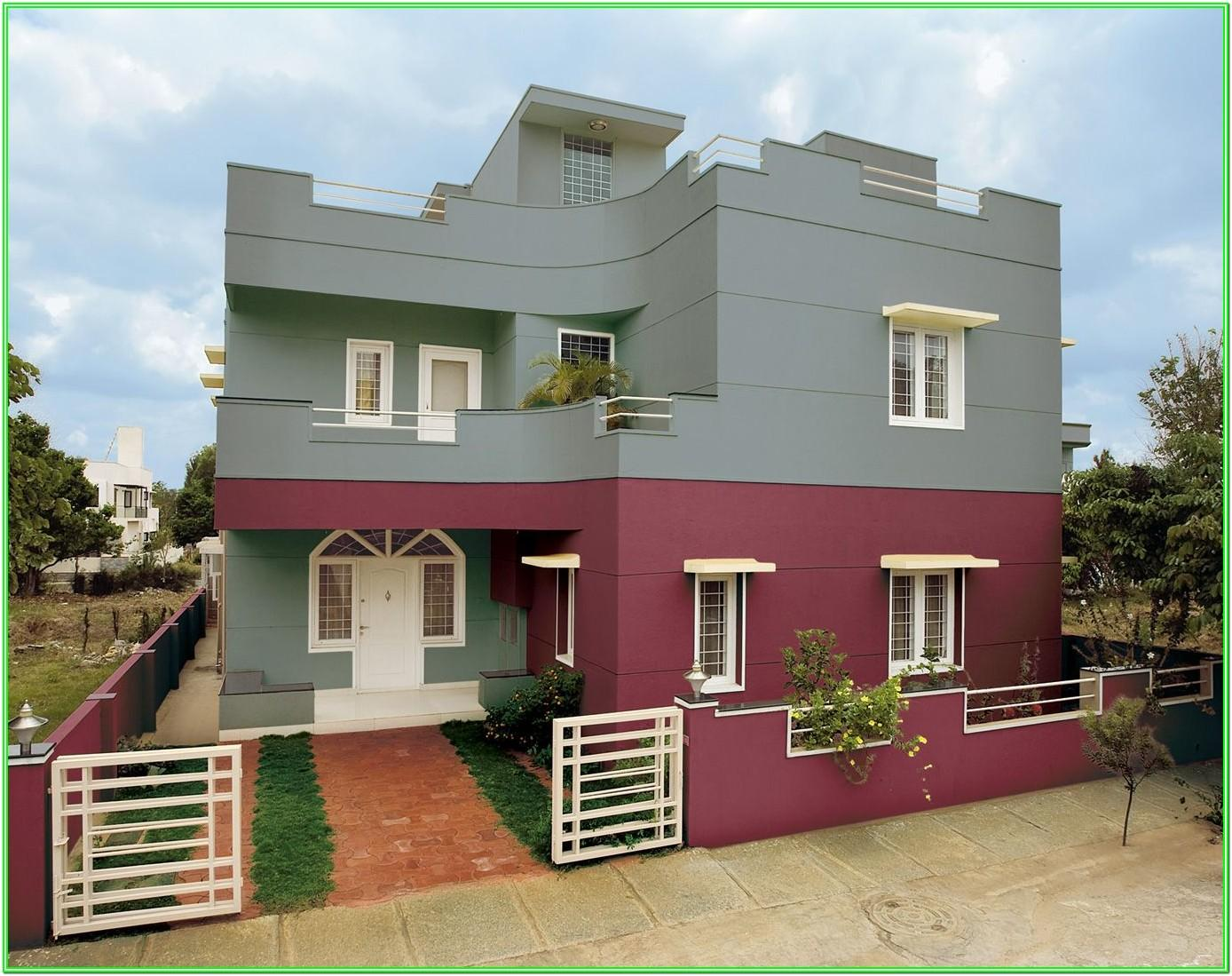 Asian Paints Exterior Color Images