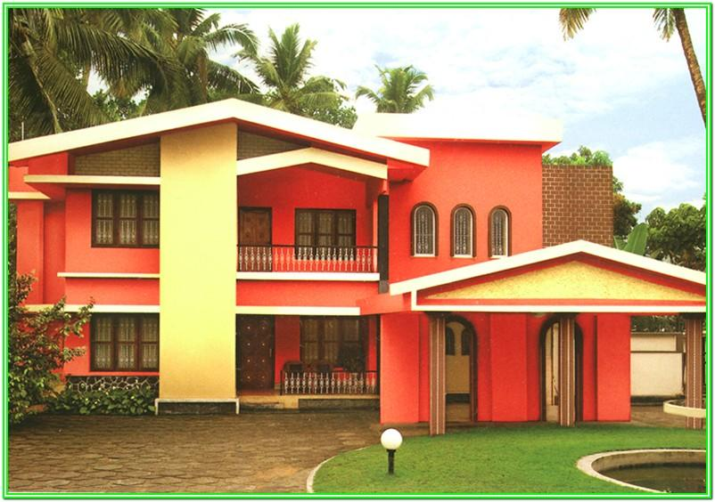 Asian Paints Exterior Colour Combinations Photos