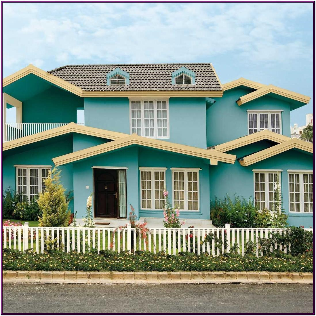 Asian Paints Exterior Colour Shades