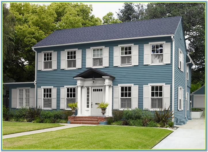 Behr Exterior House Paint Colors 2019