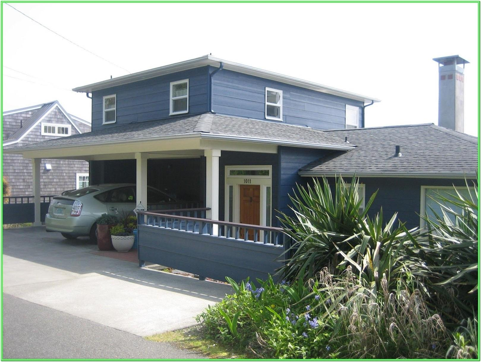 Benjamin Moore Blue Exterior House Colors