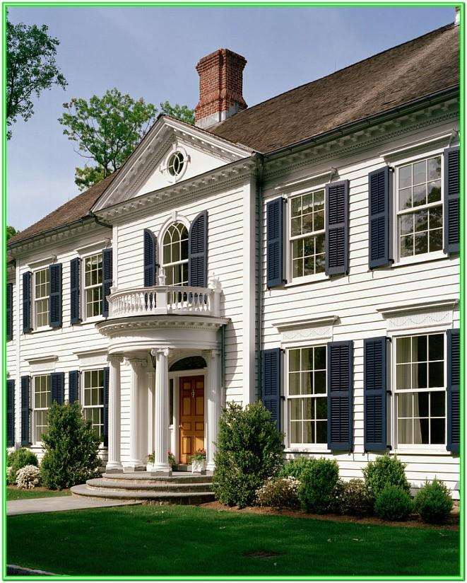 Benjamin Moore Exterior Paint Colour Combinations