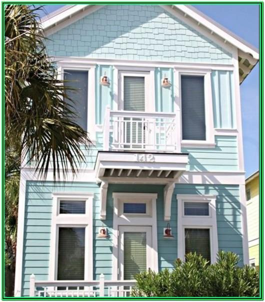 Best Beach House Exterior Paint Colors