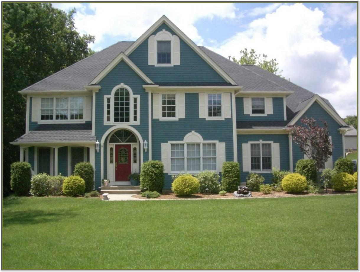Best Exterior Colour Combination For House
