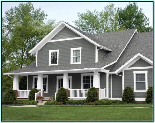 Best Exterior White Trim Paint Color