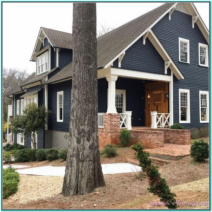 Best Farmhouse Exterior White Paint Color