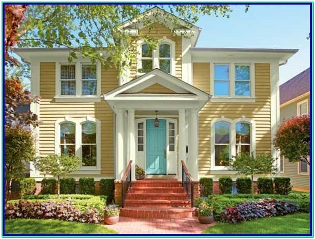 Best Yellow Paint Colors For House Exterior