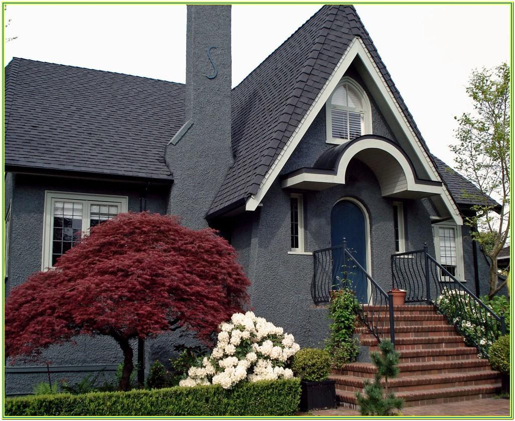 Blue Gray Exterior House Paint Colors