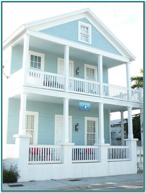 Blue Green Exterior House Paint Colors