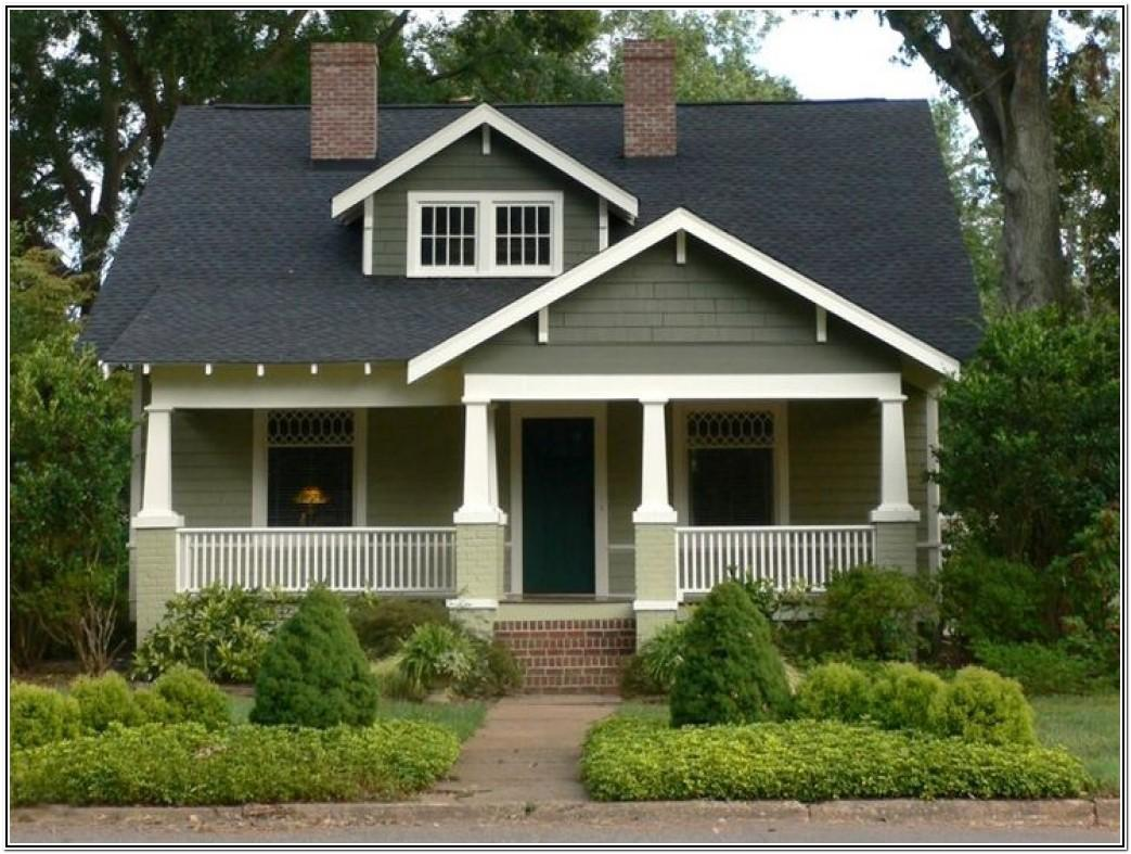 Bungalow Exterior Colour Schemes