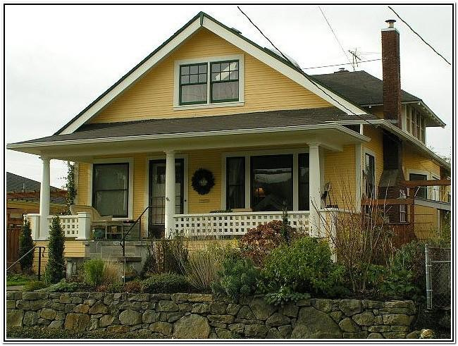 Bungalow Exterior Paint Color Schemes