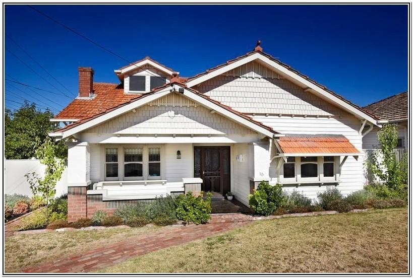 California Bungalow Exterior Color Schemes