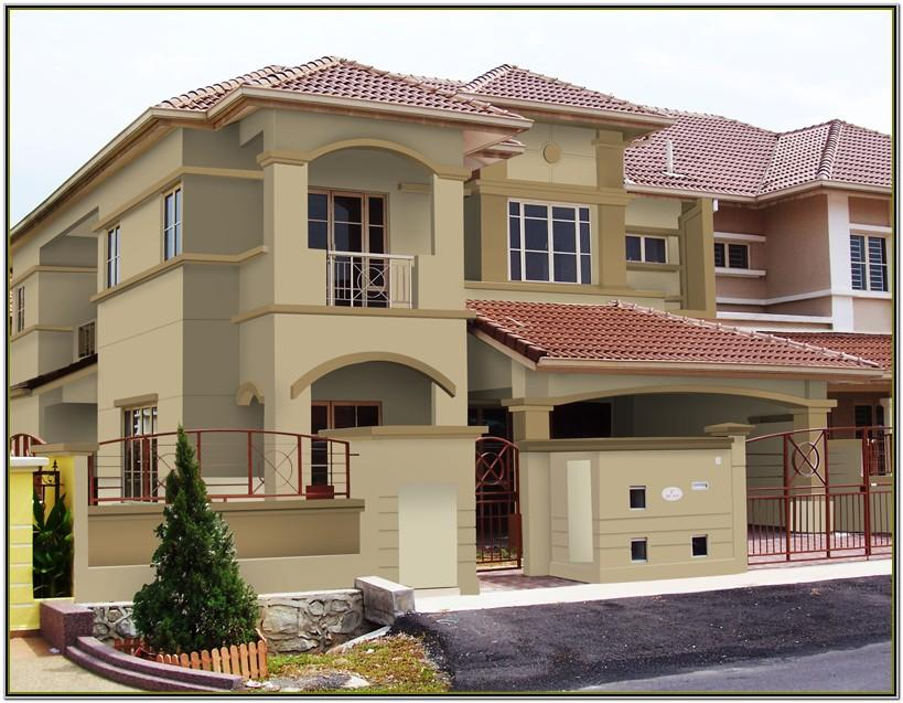 Colour Schemes For Exterior House Paint In India