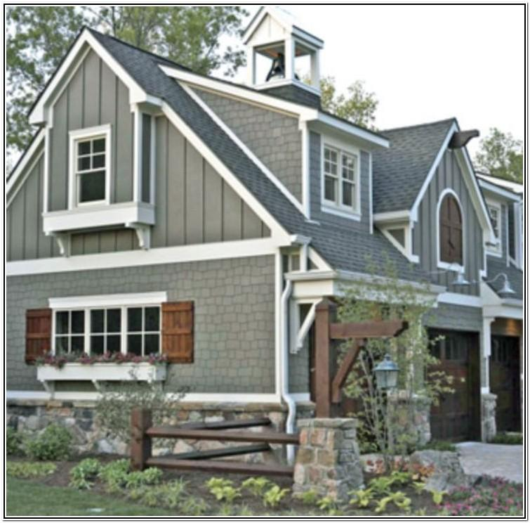 Exterior Color Schemes For Houses With Brown Roof
