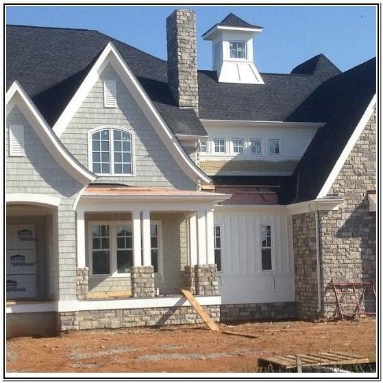 Exterior Color Schemes For Houses With Stone