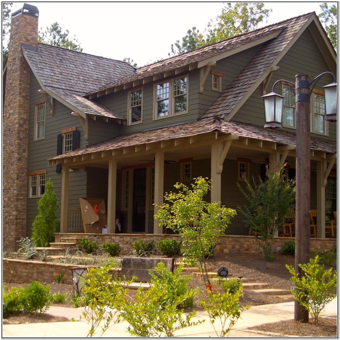 Exterior Colors For Small Lake House