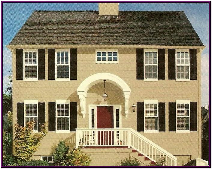 Exterior Colour Schemes For Cream Brick Houses