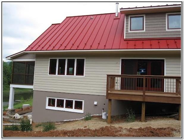 Exterior Concrete Foundation Paint Colors