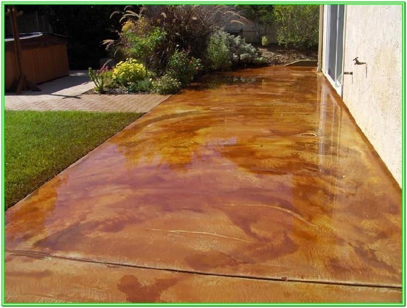 Exterior Concrete Paint Vs Stain