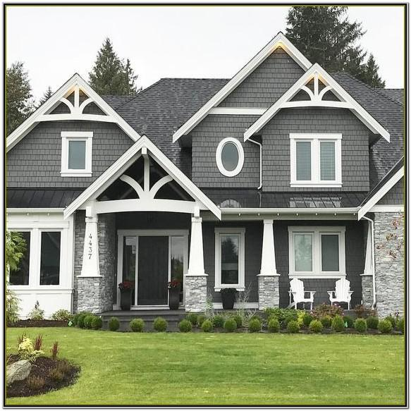 Exterior House Color Schemes 2019