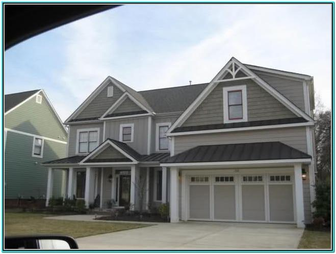 Exterior House Color Schemes Grey