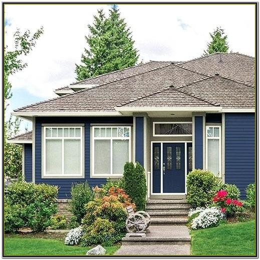 Exterior House Colour Schemes 2018