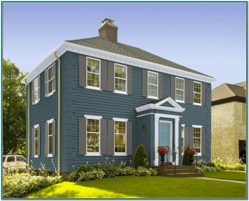 Exterior House Paint Color Combinations Benjamin Moore