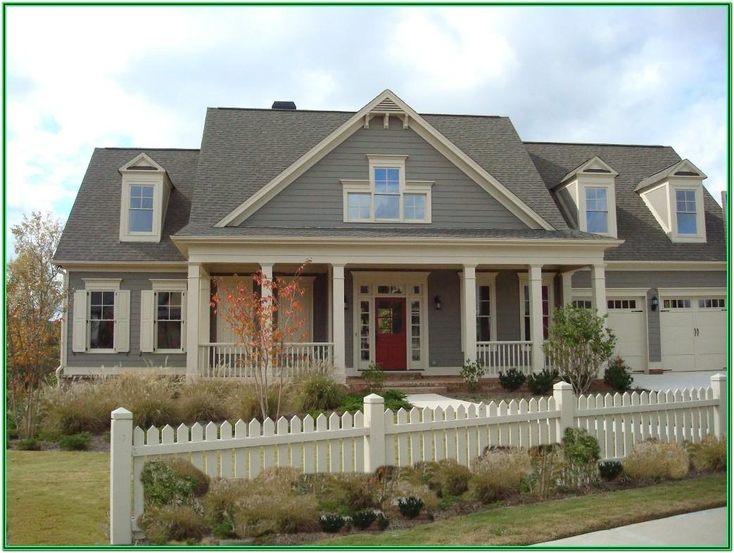 Exterior House Paint Color Schemes Brick