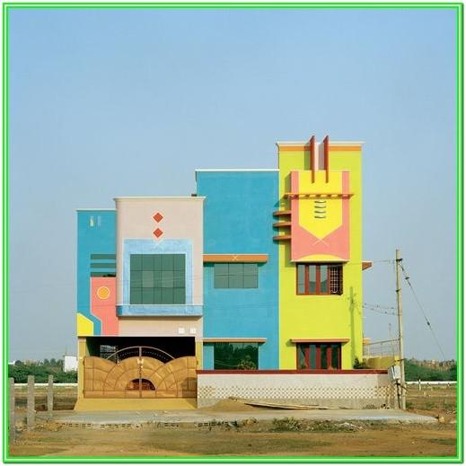 Exterior House Paint Colors Photo Gallery In Tamil Nadu