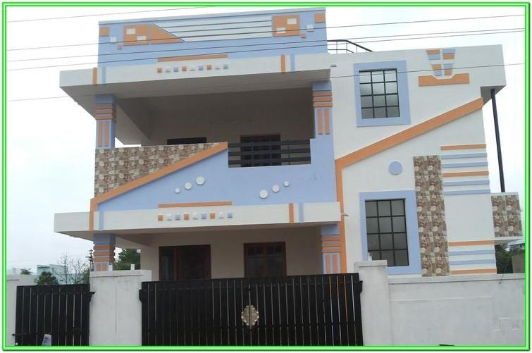 Exterior House Paint Colors Pictures In Tamil Nadu
