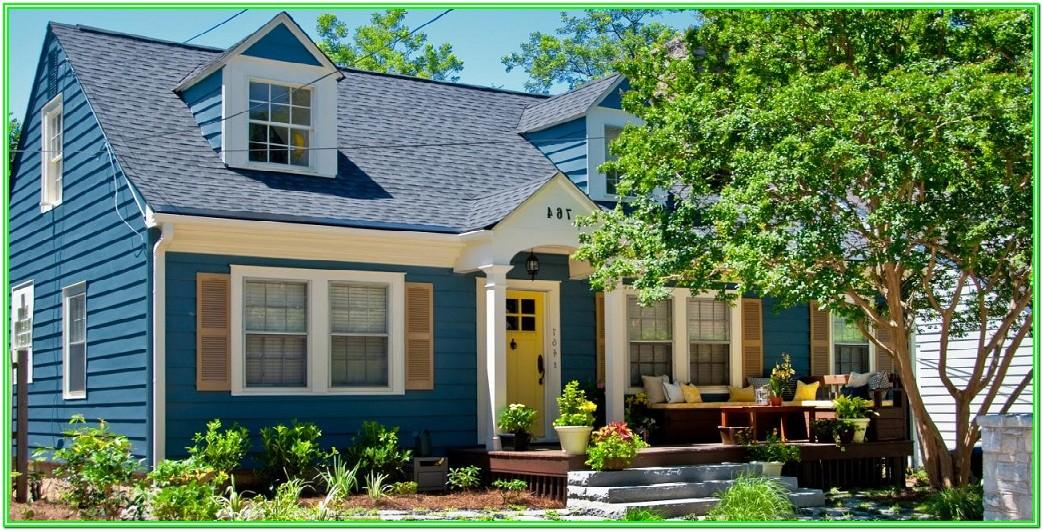 Exterior House Paint Colours 2018