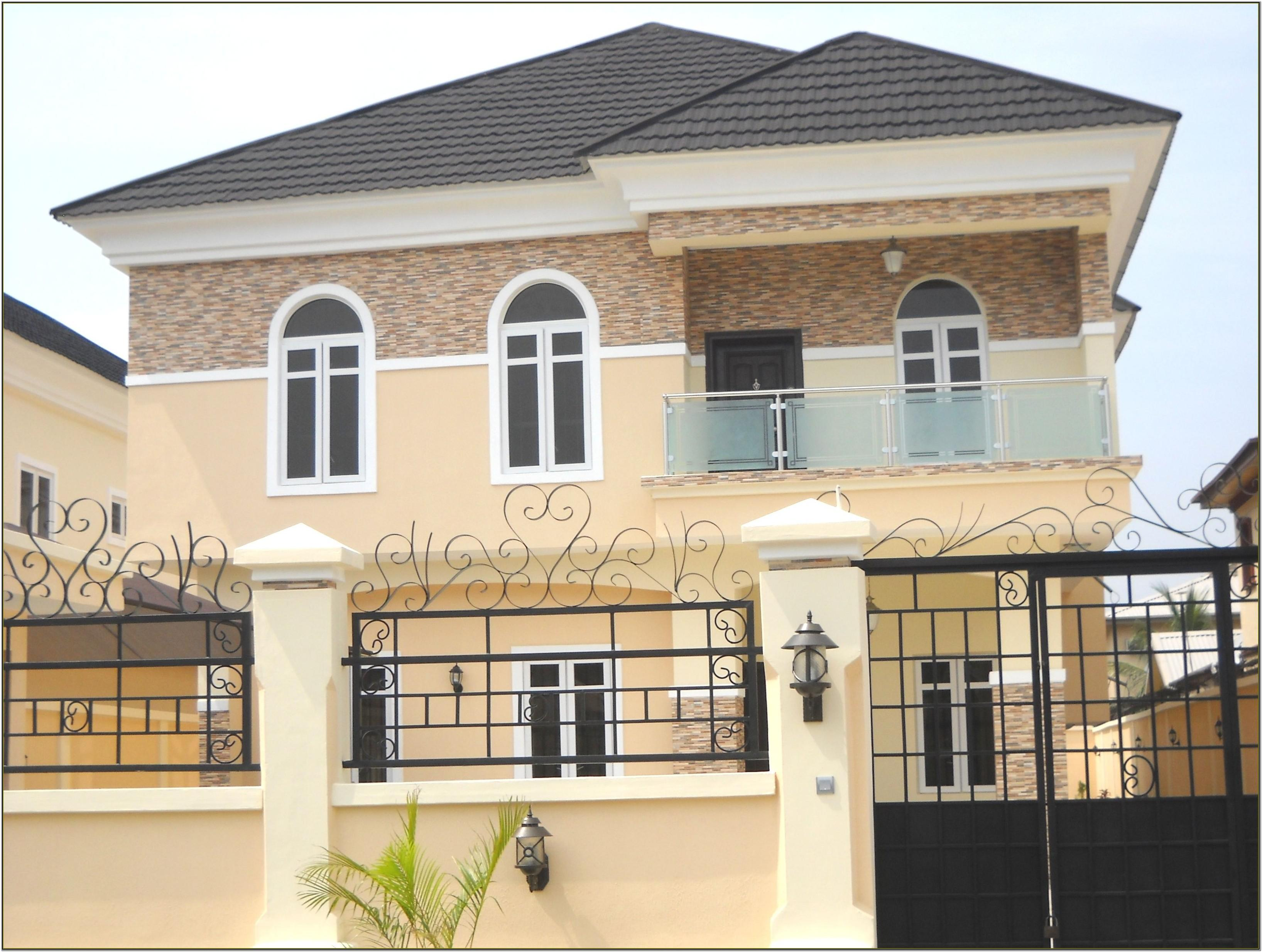 Exterior House Painting Designs In Nigeria