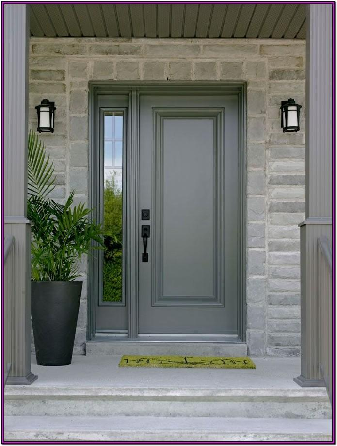 Exterior Metal Door Paint Colors