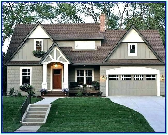 Exterior Paint Color Combinations 2018