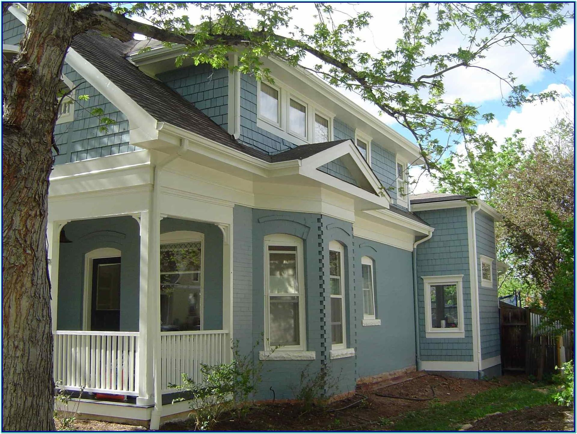 Exterior Paint Color Schemes 2018