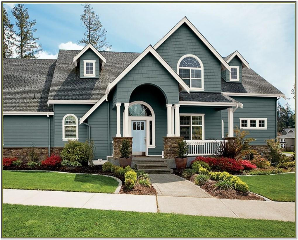 Exterior Paint Color Schemes For Brick Homes
