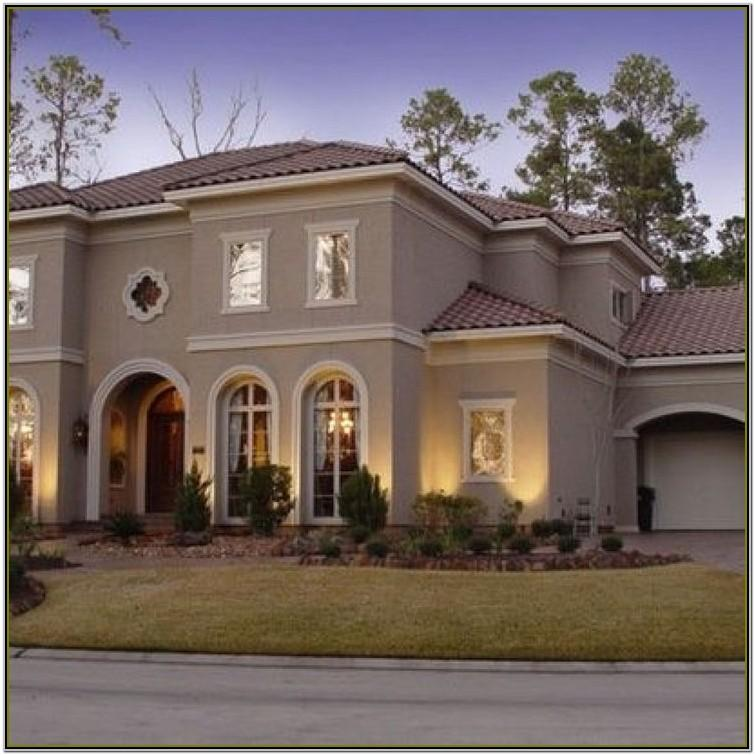Exterior Paint Color Schemes For Stucco Homes