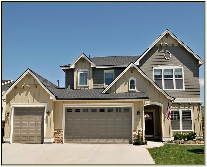 Exterior Paint Color Schemes With Black Roof